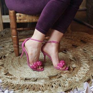 Vintage// Betsey Johnson// Rose Heels